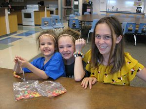 Pre-Schoolers play with SRIS Students