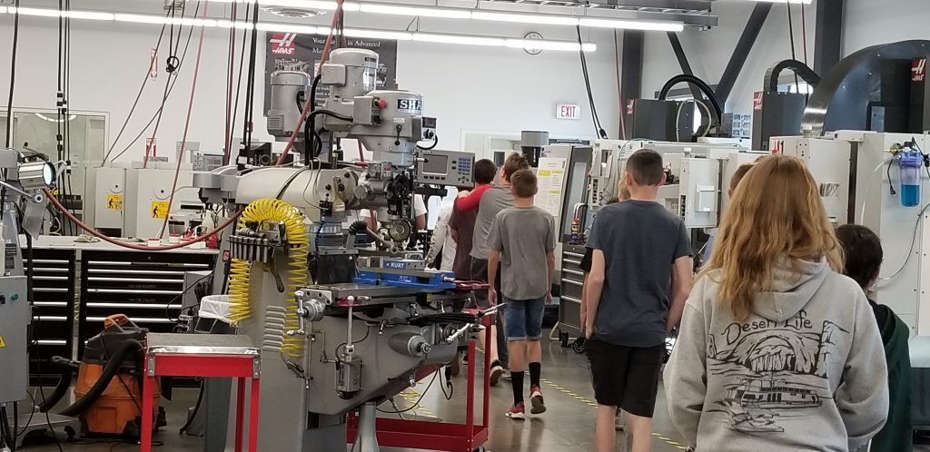 STEAM Class visits Dixie Tech College